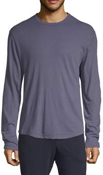 James Perse Men's Long-Sleeve Cotton Tee