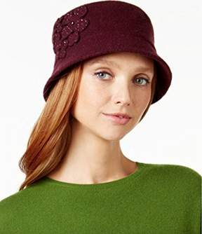 Nine West Wool Knit Brim Hat