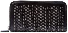 Alaia Black Leather Wallets