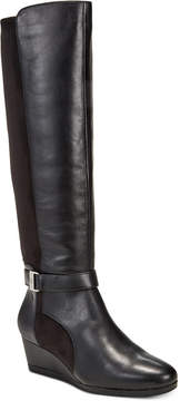 Giani Bernini Cathrin Wedge Boots, Created for Macy's Women's Shoes