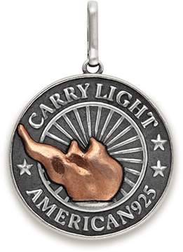 Alex and Ani LIBERTY COPPER | CARRY LIGHTTM Necklace Charm, Large