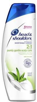 Head & Shoulders Purely Gentle Scalp Care 2in1 Dandruff Shampoo + Conditioner
