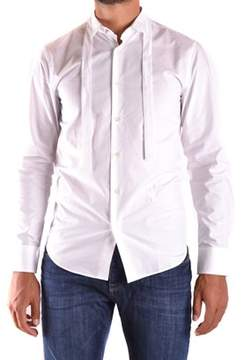 Richmond Men's White Cotton Shirt.