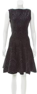 Alaia Patterned Flared Dress