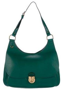 Tory Burch Large Saddalrina Bag - GREEN - STYLE