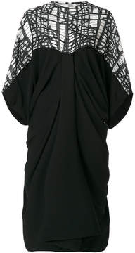 Chalayan draped shoulder dress