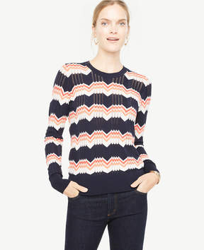 Ann Taylor Chevron Sweater