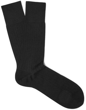 Falke Ribbed Cashmere Socks