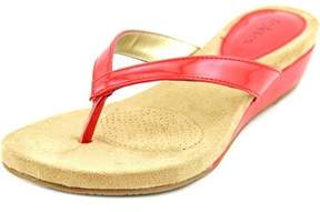 Style&Co. Style & Co Haloe Open Toe Synthetic Wedge Sandal.