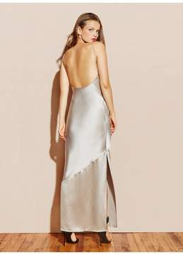 Fleur Du Mal Silk Bias Gown