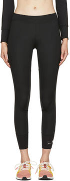 adidas by Stella McCartney Black The Performance 7-8 Leggings