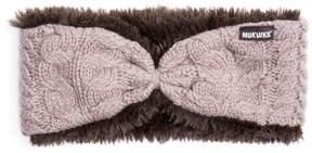 MUK LUKS Women's MUK LUKS Faux-Fur Reversible Headband
