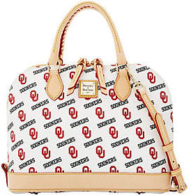 Dooney & Bourke NCAA University of OklahomaZip Zip Satchel - ONE COLOR - STYLE
