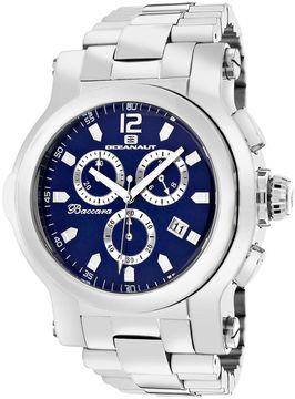 Oceanaut Mens Baccara XL Blue Bracelet Watch