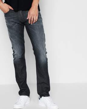 7 For All Mankind Cashmere Denim Slimmy in Dark Blue