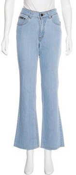 Christian Dior Mid-Rise Wide-Leg Jeans