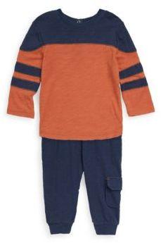 Splendid Baby Boy's Two-Piece Stripe Sweater & Cotton Pants Set