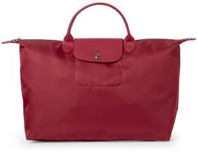 Longchamp Raspberry Le Pliage Néo Travel Bag - RASPBERRY - STYLE