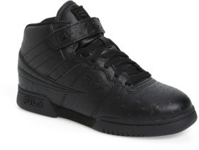 Fila Boy's F-13 Ostrich Embossed High Top Sneaker