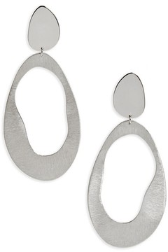 Argentovivo Women's Modern Drop Earrings