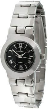 Peugeot Womens Silver Tone Bracelet Watch-145l