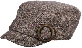 Scala Women's LW597 Knit Cadet Flat Cap