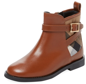 Burberry Embroidered Chelsea Boot