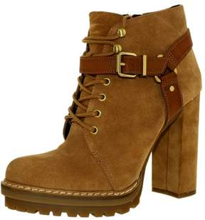 BCBGeneration Women's Henrik Suede Sandalwood/Whiskey Ankle-High Boot - 9M