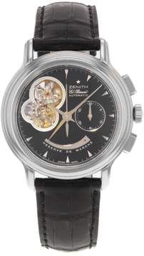 Zenith Chronomaster T 03.0240.4021 Stainless Steel Automatic 39mm Mens Watch
