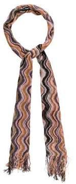 Missoni Patterned Knit Scarf