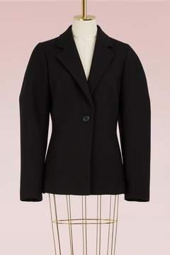 Jil Sander Sculptured Woolen Jacket