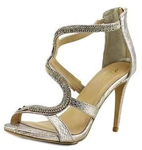 Thalia Sodi Neiva Open-toe Canvas Heels.