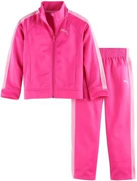 Puma Toddler Girl Colorblock Jacket & Pants Set
