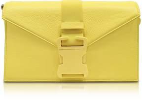 Christopher Kane Solar Yellow Grained Leather Devine Og Bag