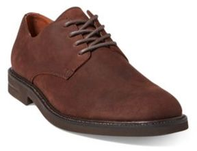 Ralph Lauren Torian Suede Buck Shoe Dark Chocolate 12