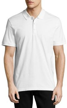 James Campbell Laguna Solid Cotton Polo