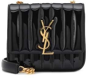 Saint Laurent Vicky Small patent leather shoulder bag