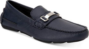 Calvin Klein Men's Mikos Tumbled Leather Drivers Men's Shoes