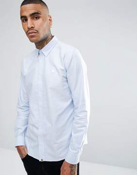 Pretty Green Sterling Oxford Shirt in Blue