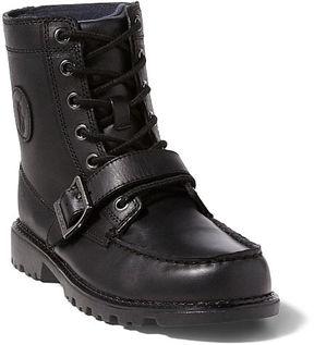 Ralph Lauren Big Kid Leather Ranger Hi Ii Boot