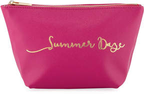 Neiman Marcus Printed Cosmetics Pouch Bag - Summer Daze