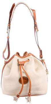 Dooney & Bourke Grained Leather Shoulder Bag - BROWN - STYLE