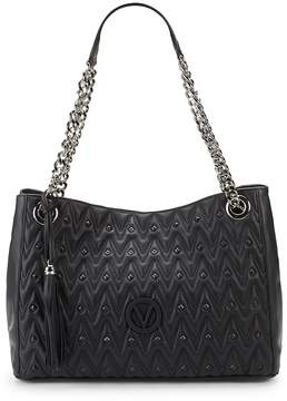 Mario Valentino Valentino by Women's Verad Leather Shoulder Bag