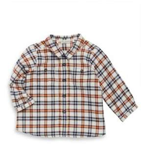 Bonpoint Baby's & Toddler's Plaid Cotton Button-Down Shirt