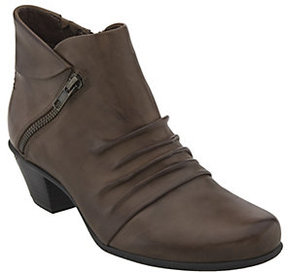 Earth Leather Ankle Boots - Pegasus