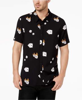 GUESS Men's Dice Graphic-Print Shirt