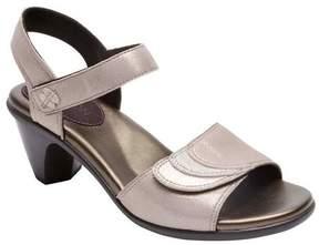 Aravon Women's Medici Adjustable Quarter Strap Sandal