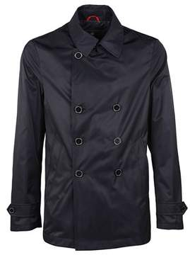Fay Men's Blue Polyester Outerwear Jacket.
