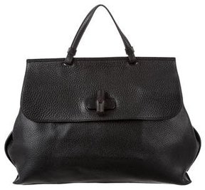 Gucci Large Bamboo Daily Tote - BLACK - STYLE