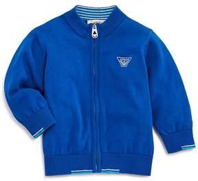 Armani Junior Boys' Cotton Zip-Up Sweater - Baby